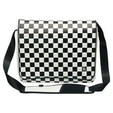 "Checker Flag 13.4"" Borsa da corriere"
