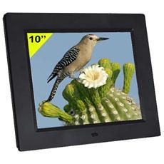 "10"" TFT LCD LED, 1024 x 768, JPEG / MPEG4 / MP3, SD / SDHC / MMC, USB, Nero"