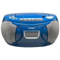 TCP-39BLUE Analogico 2W Blu radio CD