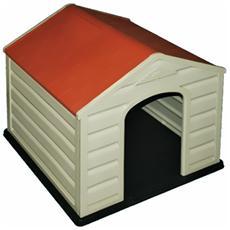 Cuccia per cani in resina da esterno L59xP66xH55 cm