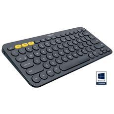 LOGITECH - Tastiera K380 Bluetooth per Windows / Mac / Chrome...