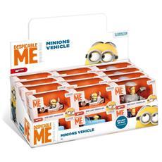 Minions - Veicolo 1:43 - Box 1 Pz (Assortimento)
