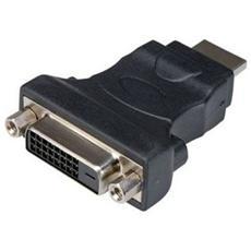 AdattatoreADJ HDMIDVI HDMI M DVI F nero