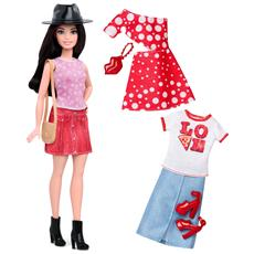 MATTEL - Barbie Fashionista E Moda - Love Pizza