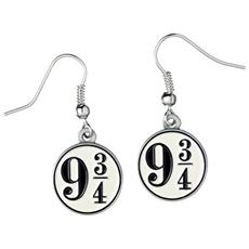 Harry Potter Platform 9 3/4 Earrings (silver Plated)