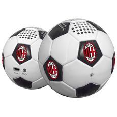 Altoparlante Portatile Milan Bluetooth Colore Bianco e Nero