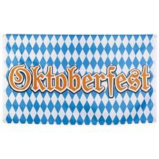 Bandiera In Tessuto Oktoberfest Taglia Unica