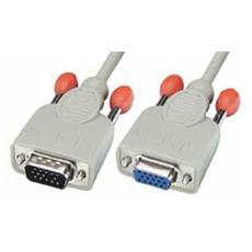 Prolunga Monitor S-VGA DDC2 (15HDM / 15HDF) Premium, 15m
