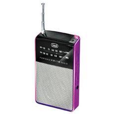 Radio Portatile Am / fm Ra 725 Fucsia