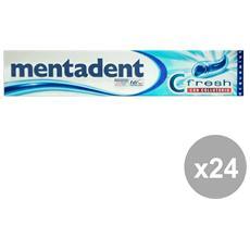 Set 24 Dentifricio C-fresh Con Collut. 75 Ml. Prodotti Per Il Viso