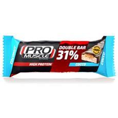 Barretta Proteica Double Bar 60gr Bianco Unica