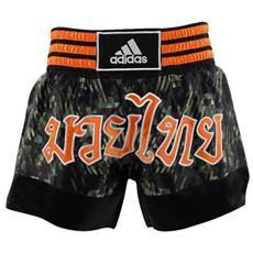 Shorts Thai Boxe Pantaloncini Muay Adidas Camo Taglia M