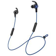 Auricolari IN-Ear Sportivo con Microfono AM61 Colore Nero / Blu