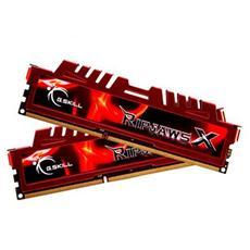 Memoria Dimm RipjawsX 8 GB (2 x 4GB) DDR3 1600 Mhz CL9 Non-ECC Dissipatore Rosso