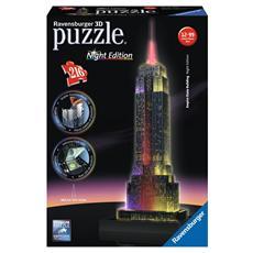 Puzzle 3D Luminoso Empire State Building 216 pz 41 x 14 x 7 cm 12566