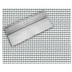 Rete Zanzariera in Alluminio Super Extra 18x16 mm H: 40 cm Lunghezza 30mt Phifer