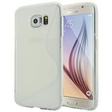 Cover Custodia Sline Silicone Tpu - Trasparente - Samsung Galaxy S6