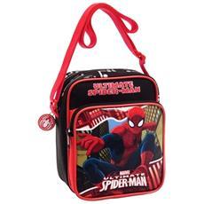 Borsa Tracollina Borsetta Con Tracolla Regolabile Bambino Spiderman