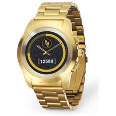 Smartwatch Hybride Zetime Lancette Meccaniche Salvadisplay Touch Screen - Oro