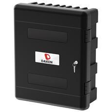 Daken® Cassetta Porta Attrezzi 75,0 L / 27,0x61,6x73,5cm Con 2 Ripiani + Serratura A Cilindro