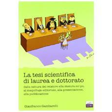La tesi di laurea scientifica
