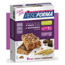 Barrette cereali 6 pasti (12*31gr) 04/14 vaniglia