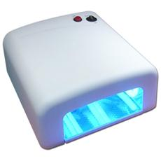 Fornetto Ricostruzione Unghie 36W Lampada Uv Gel Smalto Nail - 4 Lampade 9W