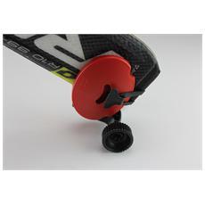 Portasci Tascabile Rosso – Mini-trolley Per Il Trasporto Degli Sci
