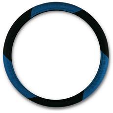 """Coprivolante """"""""mesh"""""""" Nero-blu Diametro 37-39 Cm"""