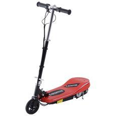 Monopattino Elettrico E-scooter Con Luci 12km / h Pieghevole, Rosso
