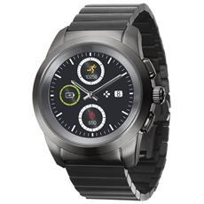 Smartwatch Hybride Zetime Lancette Meccaniche Salvadisplay Touch Screen - Nero