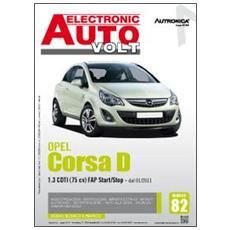 Opel Corsa D. 1.3 CDTI (75 CV) fap start&stop dal 01/2011. Ediz. multilingue