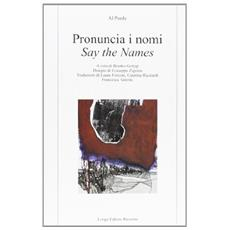 Pronuncia i nomi-Say the names