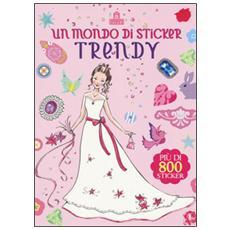 Mondo di sticker trendy (Un)