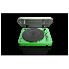 Giradischi con Registrazione Diretta su USB Verde L-85 GREEN