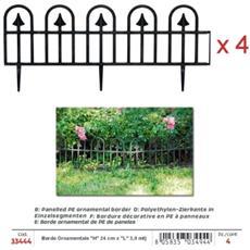 Bordo Ornamentale Per Giardino In Pe Americano (''h'' 24 Cm)