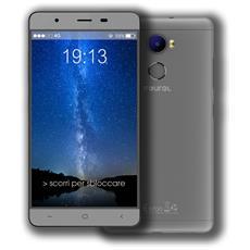 "Easy Smart M3 Plus Grigio 16 GB 4G / LTE Dual Sim Display 5.5"" HD Slot Micro SD Fotocamera 13 Mpx Android Italia"