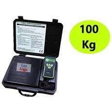 Bilancia Elettronica Max. 100 Kg Gas Refrigerante R404a R410a R134a Condizionamento