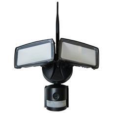 Faretti Led Di Sicurezza 18w Ip 44 Smd Con Sensore, Telecamera E Wifi Luce Fredda 6000k V Tac Vt-4818 5917
