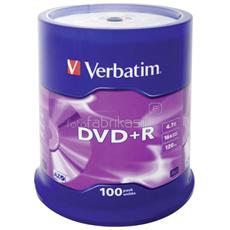DVD+R 16x Adv AZO 4,7GB Spindle 100 pz
