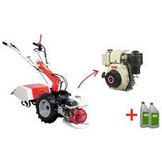 Motocoltivatore A Diesel Mc 202 D5 Motore Jet Power Ud 500 5 Hp