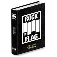 Diario Smemoranda Happiness Pocket 10 Mesi Nero Rock Flag Scuola Media