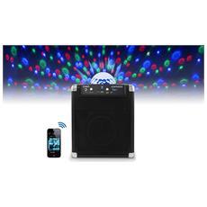Audio Party Rocker, 1.0, 50W, Senza fili, Bluetooth / 3.5 mm, Bluetooth, Cubo