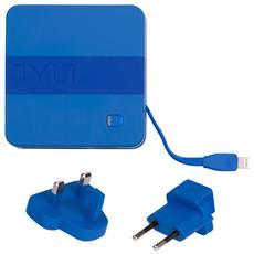 Energi 6K+, Interno, Smartphone, Tablet, AC, Blu, Contatto, Micro-USB, Lightning