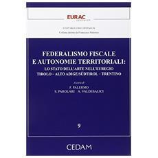 Federalismo fiscale e autonomie territoriali. Lo stato dell'arte nell'euregio. Tirolo-Aldo Adige / Sudtirol-Trentino