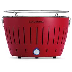 Barbecue XL da Tavolo Colore Rosso