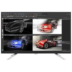 """Monitor LCD con Retroilluminazione a LED 43"""" BDM4350UC Risoluzione 3840 x 2160 Pixels Ultra HD 4K Tempo di risposta 5 ms Contrasto 50000000:1 Luminosità 300 cd / m²"""
