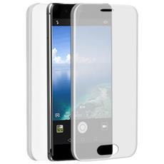 Specter Cover Fronte / Retro in TPU con Funzione 3D Touch per Huawei P10 Lite Colore Trasparente