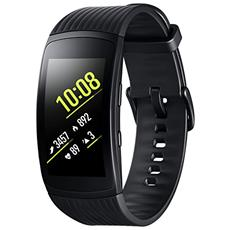 "Sportwatch Gear Fit2 Pro Impermeabile 5ATM Display 1.5"" 4GB Bluetooth WiFi e GPS Taglia L Nero - Europa"