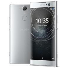 "Xperia XA2 Argento 32 GB 4G / LTE Display 5.2"" Full HD Slot Micro SD Fotocamera 23 Mpx Android Europa"